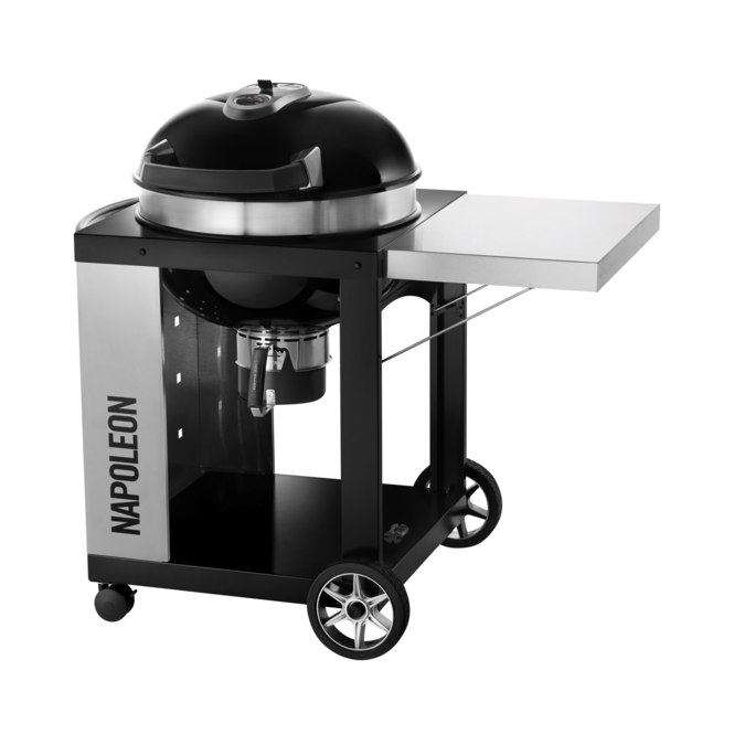 Photo de BBQ Napoleon Pro Kettle 22 au charbon avec charriot Vue 1