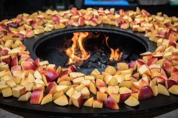 fruits sur un arteflame