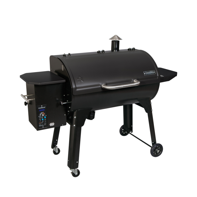 "Photo de BBQ Camp Chef SmokePro SG 36"" aux granules Noir Vue 1"