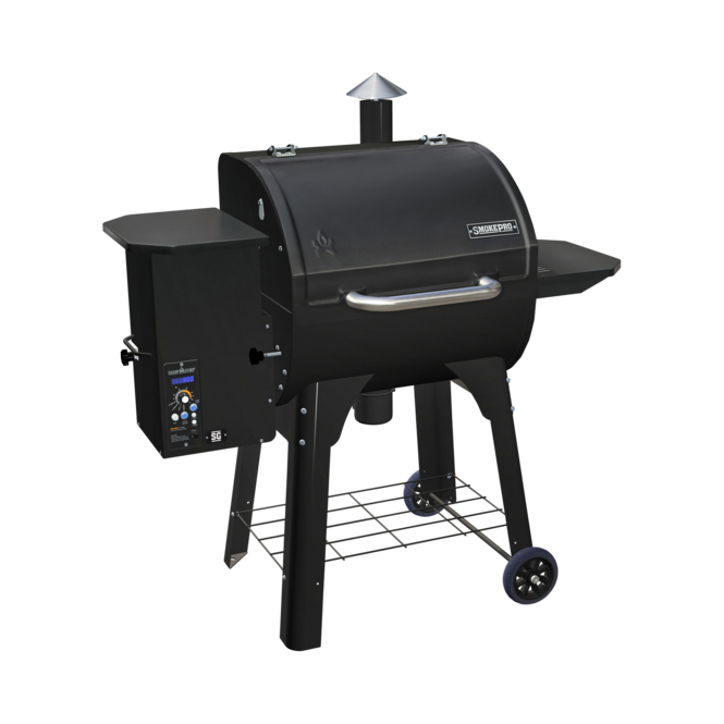 Photo de BBQ Camp Chef SmokePro SG aux granules Noir