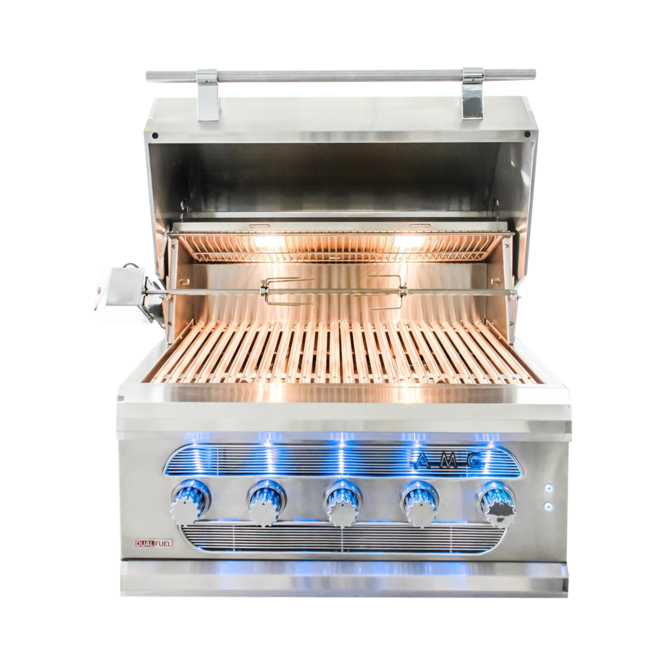Photo de BBQ encastrable 36'' au propane American Muscle Grill