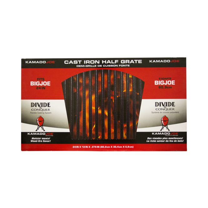Photo de Grille de cuisson demi-lune en fonte Big Joe