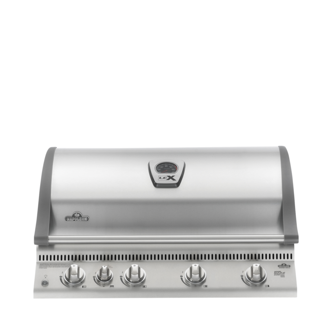 Photo de BBQ Napoleon LEX 605 encastrable au propane