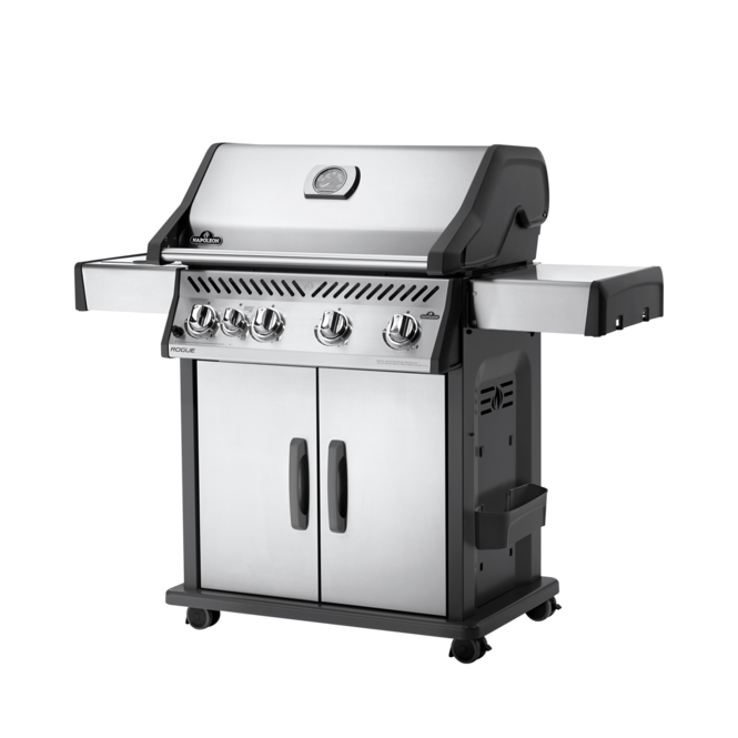 Photo de BBQ Napoleon Rogue 525 - Gaz Naturel / Acier inoxydable / Brûleur latéral infrarouge Vue 1