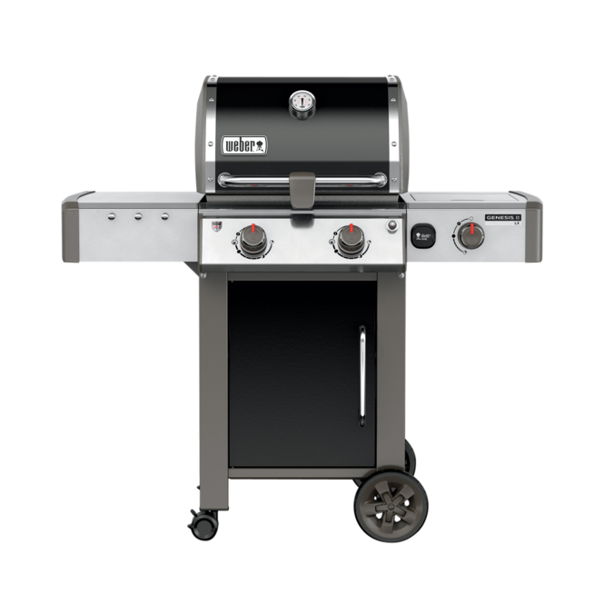 Photo de BBQ Weber GENESIS II LX E-240 noir au gaz naturel grilles 7mm en stainless