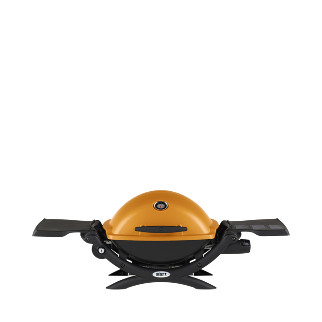 Photo de BBQ Weber Q1200 Propane - Orange Vue 1