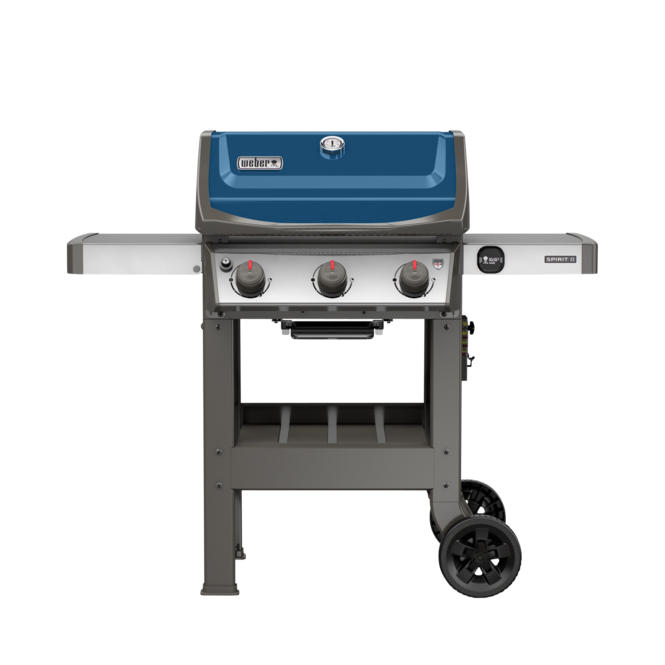 Photo de BBQ Weber Spirit II E-310 / Propane - Bleu