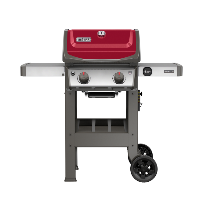 Photo de BBQ Weber Spirit II E-210 / Propane - Rouge