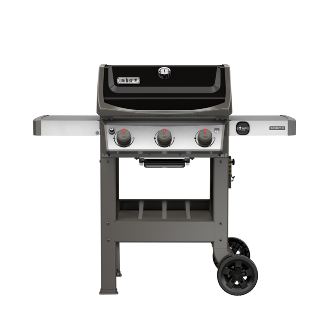 Photo de BBQ Weber Spirit II E-310 / Propane - Noir
