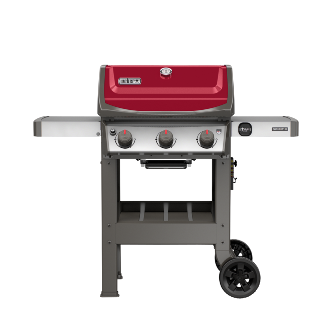 Photo de BBQ Weber Spirit II E-310 / Propane - Rouge