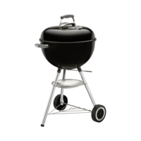Photo de BBQ Weber Kettle One-touch Silver noir 18''