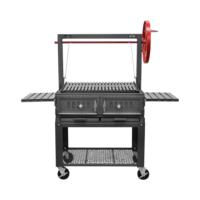 Photo de Grill Santa Maria 36'' porte simple avec chariot Vue 1