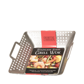 Photo de Wok en acier inoxydable Charcoal Companion