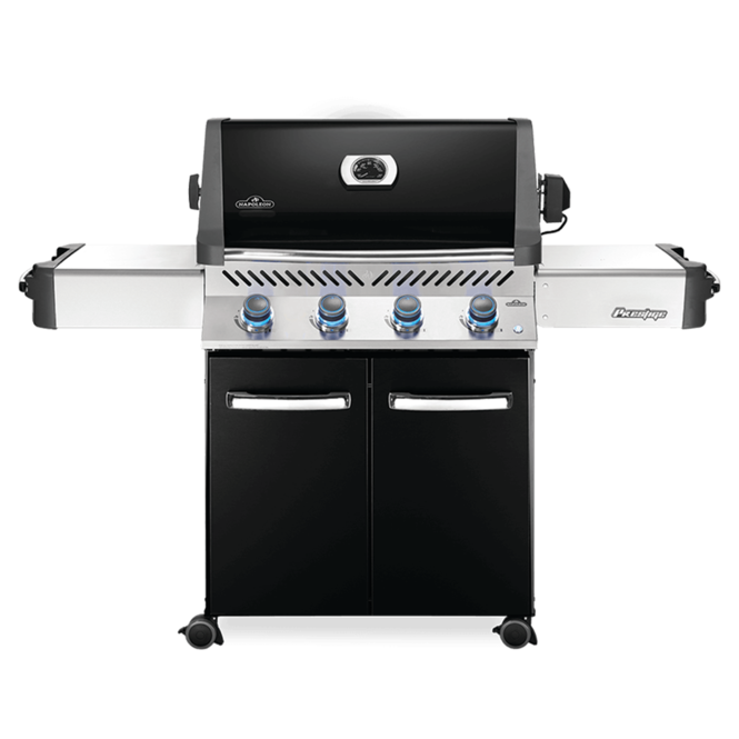 Photo de BBQ Napoléon Prestige 500 Gaz naturel noir