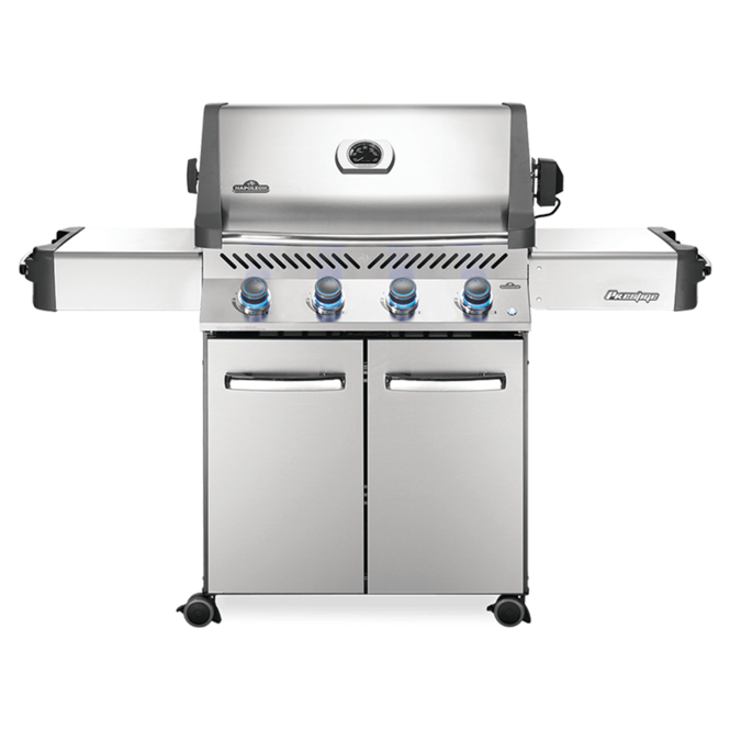 Photo de BBQ Napoleon Prestige 500 propane - Acier inoxydable