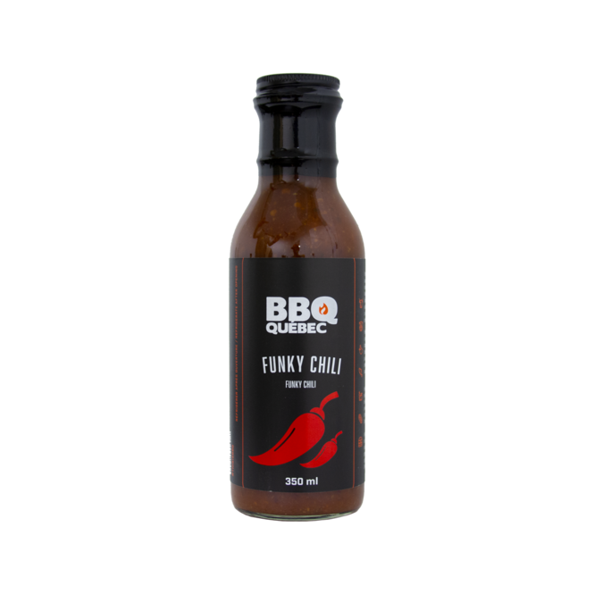 Photo de la sauce Funky Chili de BBQ Québec