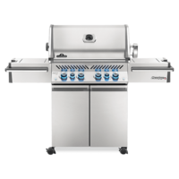 Photo de BBQ Napoleon Prestige Pro 500 - Propane - Infrarouge lateral + arriere - 100% Acier inoxydable 304
