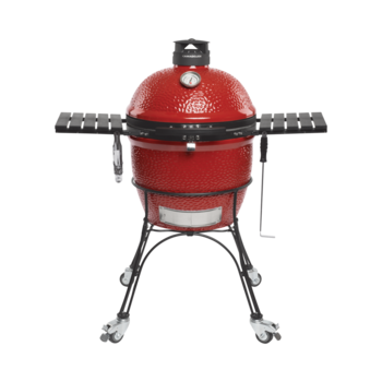 Photo de BBQ Kamado Classic Joe 18'' Rouge avec chariot